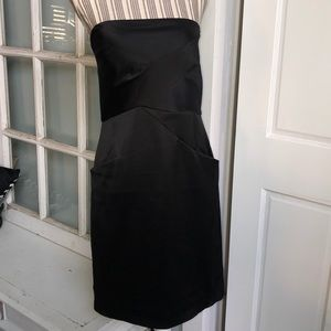 BCBG Strapless Cocktail Dress with Pockets